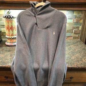 Polo Ralph Lauren Blue sweater Size M- like new
